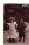 CPA - Fantaisie 1er Avril - Enfants - 1° Aprile (pesce Di Aprile)
