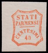 Parma - Governo Provvisorio: 40 C. Vermiglio - 1859 - Parma