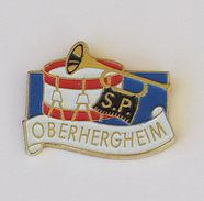1 Pin's Sapeurs Pompiers D'OBERHERGHEIM (Alsace-68) - Pompiers