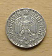ALLEMAGNE 1 Mark 1955 G Assez Rare - [ 7] 1949-… : FRG - Fed. Rep. Germany