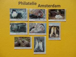 Austr. Antarctic Terr. (AAT) 1992-93, FAUNA BIRDS SEA MAMMALS PINGUINS: Mi 90-97, ** - Unclassified