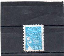 FRANCE    0,67 €   2002  Y&T: 3453    Marianne De Luquet     Oblitéré - 1997-04 Maríanne Du 14 Juillet