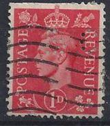 GB 1941  KG VI. 1d (o)  SG.486. Mi.222. (perfin.bc) - Great Britain