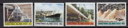 CHRISTMAS Island  : 148-51 – Phosphate Industry (1981) ** MNH - Christmas Island