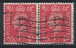 GB 1941  KG VI. 1d (o)  SG.486. Mi.222. (perfin.LCC) - Great Britain