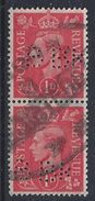 GB 1941  KG VI. 1d (o)  SG.486. Mi.222. (perfin.BBK) - Great Britain