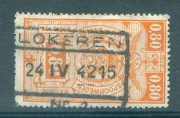 """BELGIE - TR 243 - Cachet  """"LOKEREN Nr 1"""" - (ref. 16.136) - Chemins De Fer"""