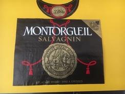 5359 - Montorgueil 1986 Salvagnin  Suisse Chevalier - Etiquettes