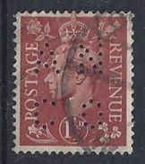 GB 1941  KG VI. 1d (o)  SG.487. Mi.223. (perfin.AN CO) - Great Britain