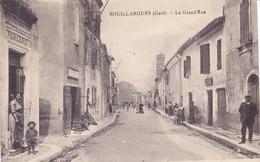 BOUILLARGUES , La Grand'rue - Frankreich