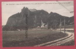 38 - SAINT NIZIER ET LES PUCELLES---Sous Station--Ligne De Grenoble A Villars De Lans - Francia