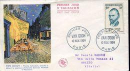 27382 France,  Fdc  1956  Vincent Van Gogh - Arts