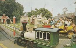 Etats-Unis - New Jersey. - Palisades Amusement Park. - Railroad And Antique Car Ride. Voyagée 1965. N° 17489 - Etats-Unis
