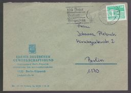 B 585) MWSt Berlin Köpenick 1989: 120 Jahre Berliner Bürgerbräu - Beers