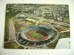 TUNISIE TUNIS TUNISIE TUNISIA   STADIO STADION STADIUM STADE STADT  POSTCARD  USED  CIRCULADA   ITALY ITALIE - Fussball