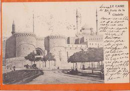 EG70  --  LE CAIRE, CAIRO  --  PORTE DE LA CITADELLE  --  1904 - Cairo