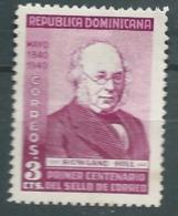 Republique Dominicaine   - Yvert N° 334 (*)     - Ava16937 - Dominicaine (République)