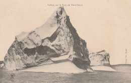 CPA - Iceberg Sur Le Banc De Terre-Neuve. Cliché Ch. Mahé. - Newfoundland And Labrador