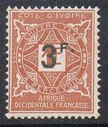 COTE-D'IVOIRE TAXE N°18 N** - Unused Stamps