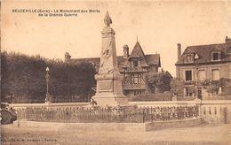 BEUZEVILLE - Le Monument Aux Morts De La Grande Guerre - Other Municipalities