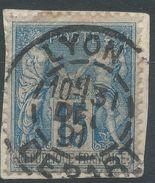 Lot N°38188  N°90, Oblit Cachet à Date De LYON DEPART - 1876-1898 Sage (Type II)