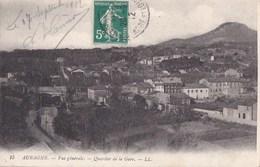 13 AUBAGNE  Maisons Du VILLAGE Du QUARTIER De La GARE Timbre 1912 - Aubagne