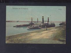Romania PPC Turnu Severin Portul 1925 - Rumänien