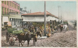 NEW ORLEANS, LA. - French Market. Detroit Publishing Co, 1906. N° 10276 - New Orleans