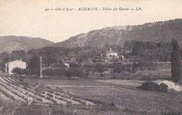 13 AUBAGNE  Maisons Du VILLAGE Jolie Vue Du VALLON Des GRAVOTS à Travers CHAMPS - Aubagne