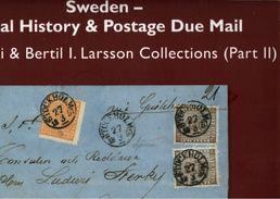 ! 2017 Auktionskatalog 365.Auktion Heinrich Köhler, Sonderkatalog Sweden, Postal History, Schweden, - Schweden