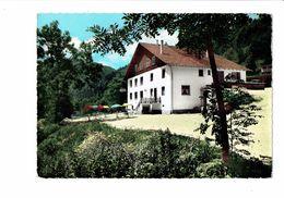 Cpm - 25 - INDEVILLERS - Doubs - AU MOULIN DU PLAIN - HOTEL Et Sa Terrasse Qui Domine Le Doubs - Sonstige Gemeinden
