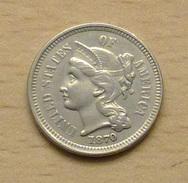 ETATS UNIS 3 Cents 1870 De Qualité - Federal Issues