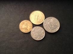 Lot Banque Centrale états De L'Afrique Centrale Et De L'ouest 100 Francs 1967 50 Francs 1986 10 Francs 1973 Et 5 Francs - Afrique Orientale