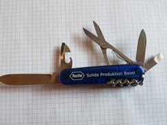 Couteau Suisse Bleu - Knives/Swords
