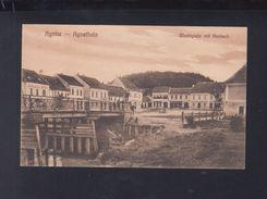 Romania PPC Agnita Marketplace 1927 - Romania