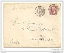 51 - 5 - Enveloppe Envoyée De Zweilütschinen à Mürren 1904 - Storia Postale
