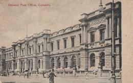 CPA Sri Lanka - Colombo.- General Post Office. M. B. Uduman's Copyright N° 31 - Sri Lanka (Ceylon)