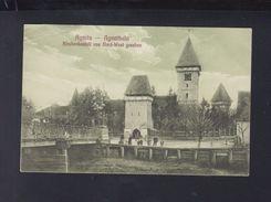 Romania PPC Agnita Fortress 1927 - Romania