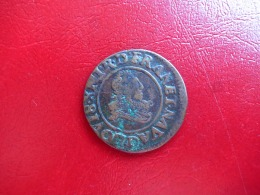 Louis XIII - Double Tournois - 1633 D Lyon - 3,1g 22mm TB+ - 1610-1643 Louis XIII. Le Juste