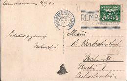 ! 1930 Maschinenwerbestempel, Machine Cancel,  Amsterdam Rembrandt Zegels - Rembrandt