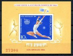 Romania, 1984, Olympic Summer Games Los Angeles, Gymnastics, MNH, Michel Block 207 - Rumänien