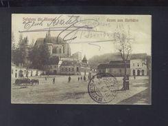 Romania PPC Biertan 1928 - Roemenië