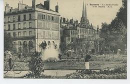 BAYONNE - Le Jardin Public Et Le Théâtre - Bayonne