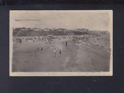 Romania PPC Plaja Din Mangalia 1933 - Romania
