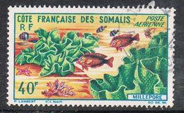 COTE DES SOMALIS AERIEN N°34 - Côte Française Des Somalis (1894-1967)