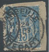 Lot N°38199  N°90, Oblit Cachet à Date De MARSEILLE DEPART - 1876-1898 Sage (Type II)
