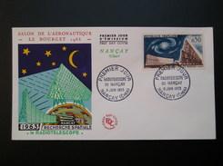 Radiotélescope De Nançay N°1362 Salon Du Bourget  8/06/1963   TBE - 1960-1969