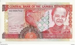 GAMBIE 5 DALASIS ND1996 UNC P 16 - Gambia