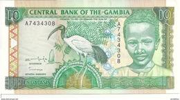 GAMBIE 10 DALASIS ND1996 UNC P 17 - Gambia