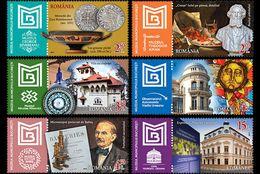 Romania 2017 / Bucharest Museum / Set 6 Stamps - Unused Stamps